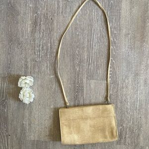 Vintage Clutch to Crossbody Bag